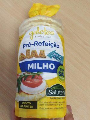 Tortilhas Dr Milho Salutem - Product