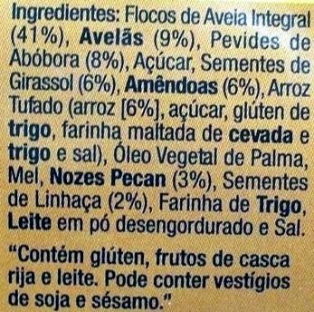 Granola superior - Ingrédients