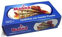 Manná Sardinhas Em Tomate Picante - Produkt