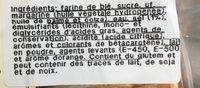 Bolos sortidos - Ingrédients - fr