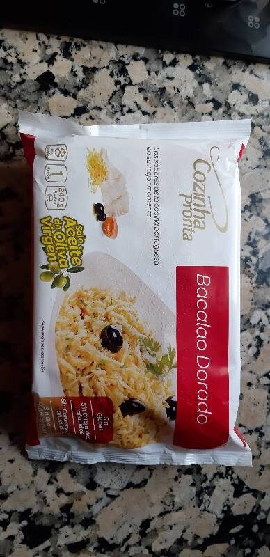 Bacalao Dorado - Product