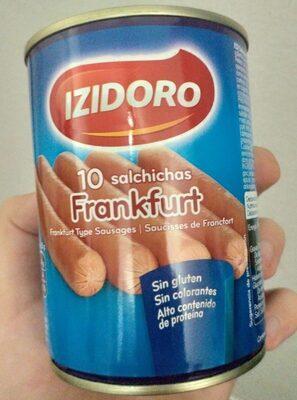 10 salchichas frankfurt - Prodotto