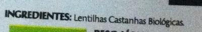 Lentilhas sem Casca - Ingredients