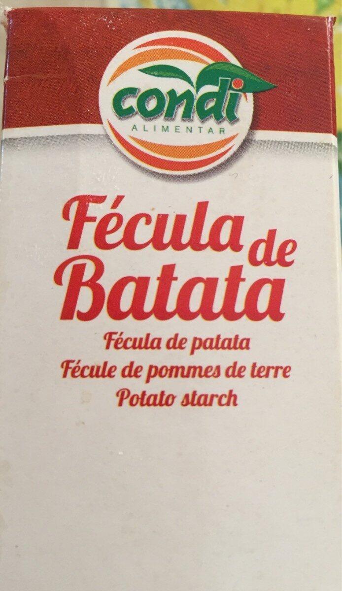 Fecule de pomme de terre - Ingrédients - fr