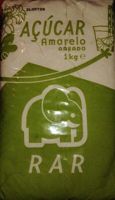 Açúcar amarelo areado - Produto