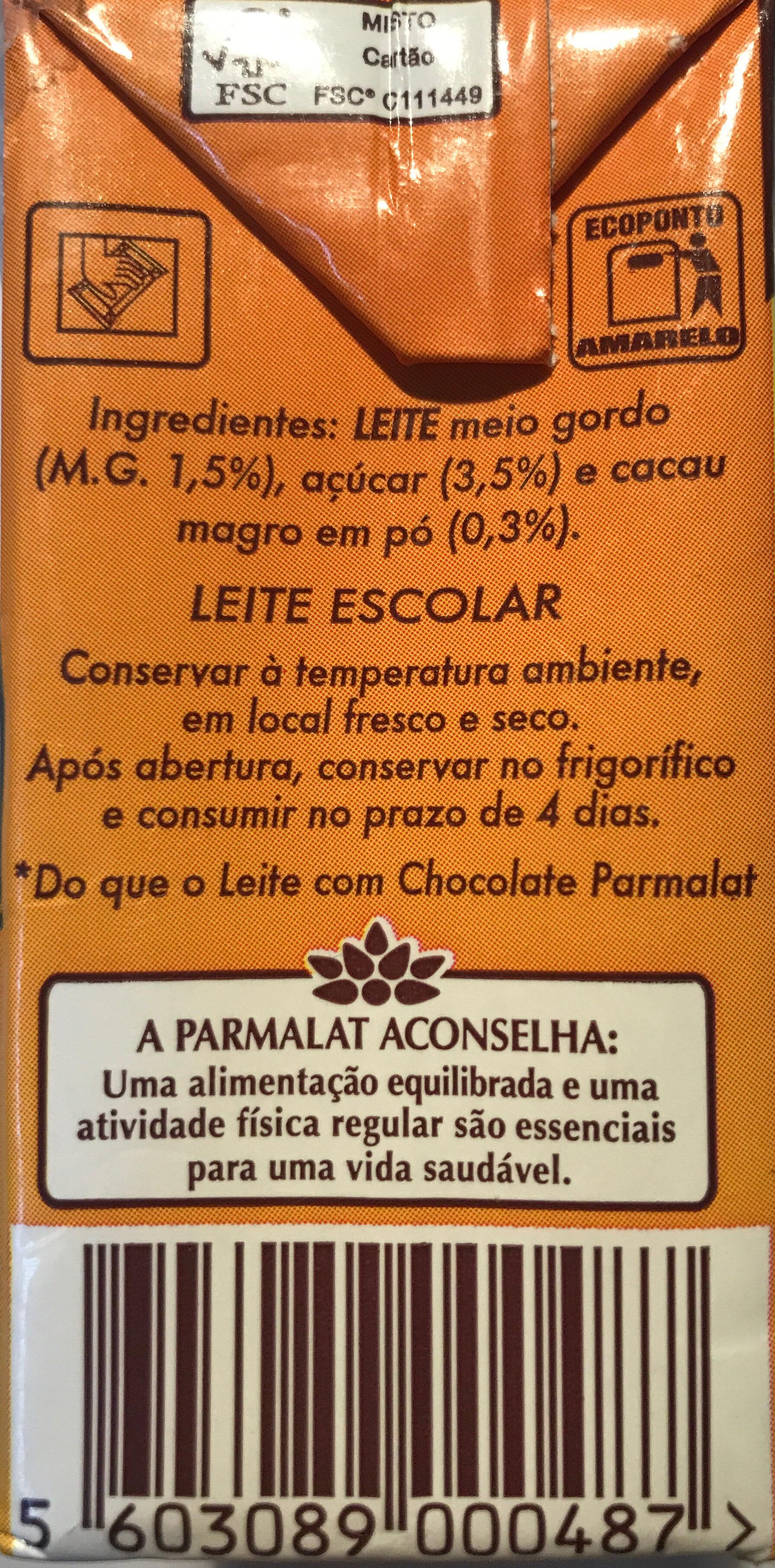 Choco Power - Ingredientes - pt