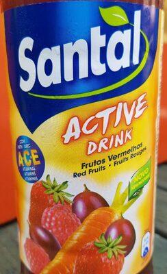 Active drink Frutos vermelhos - Produit - fr