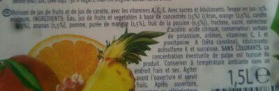 Active drink - Ingrédients - fr