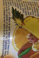 Sumo S / Gas Vitamina Frutos Exoticos / Cenoura - Ingrédients - fr