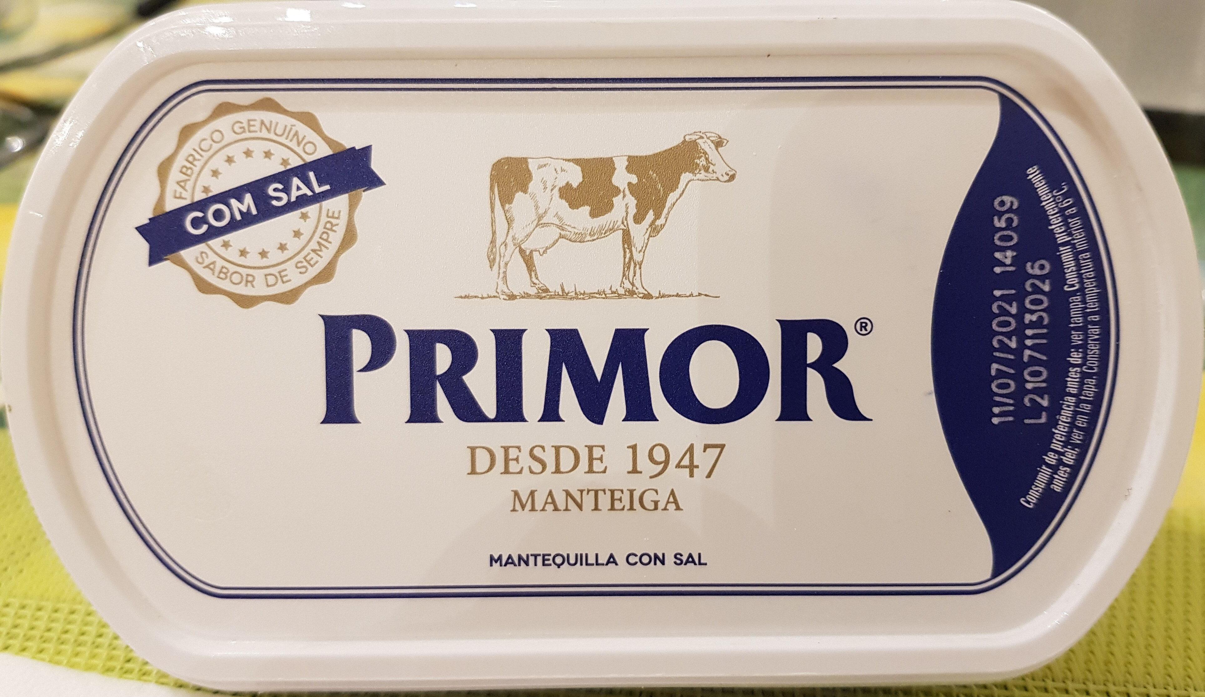 Manteiga com sal - Produit - fr