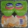 Iogurtes fruta batida banana laranja e bolacha - Product