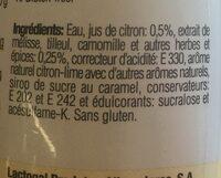 Pleno - Ingredienti - fr