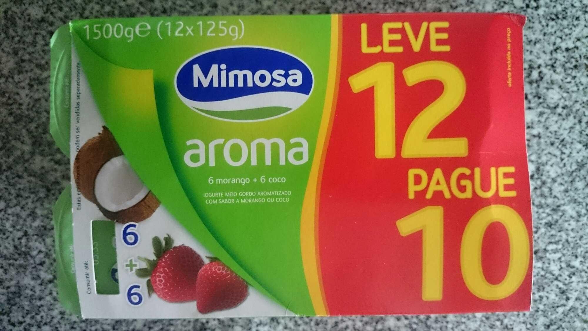 Mimosa aroma morango e coco - Product