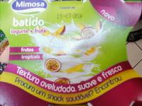 Mimosa líquido batido frutos tropicais - Product