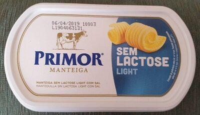 Manteiga sem lactose - Product - fr