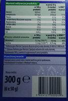 Ciasteczka wielozbożowe z dodatkiem mleka - Wartości odżywcze - pl