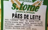 Pain au lait - Ingrédients - pt