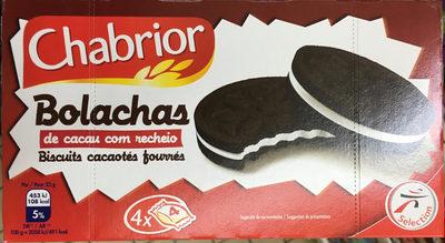 Biscuits Cacaotés Fourrés - Product