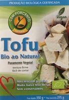 Tofu bio ao natural - Produit