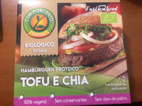 Cem Porcento Hambúrguer Proteico Tofu e Chia - Product - en