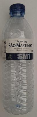 Agua de São Martinho - Product - pt