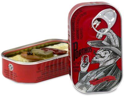 Porthos Sardinha Azeite Condimentos - Product - en