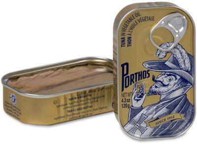 Porthos Tuna in Oil - Producte - en