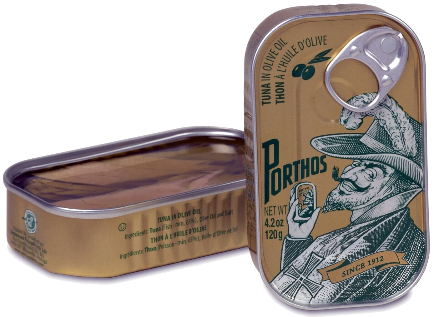 Porthos Tuna in Olive Oil - Product