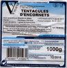 Tentacules d'encornet - Producto