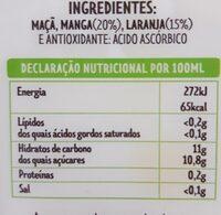 Pure Fruit - Nutrition facts - es