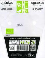 Planta de orégãos - Informació nutricional