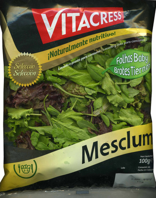 Ensalada Mesclum - Producto