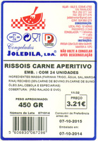 Rissóis de carne aperitivo - Product - pt