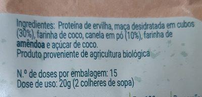 Super Pequeno Almoço - Proteico - Ingrédients