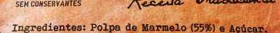 Marmelada - Ingrediënten