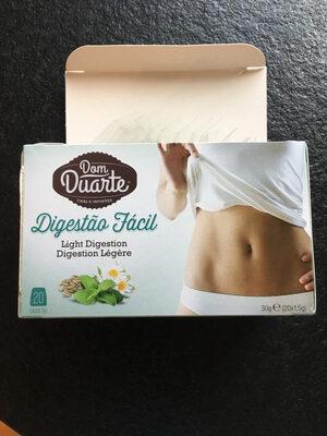 Cha Dom Duarte Saquetas Digestao Facil 1,5GR CX - Prodotto - fr