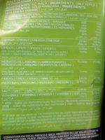 Natural frubis - Ingrédients - fr