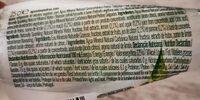 Pedras Limão - Informação nutricional - pt