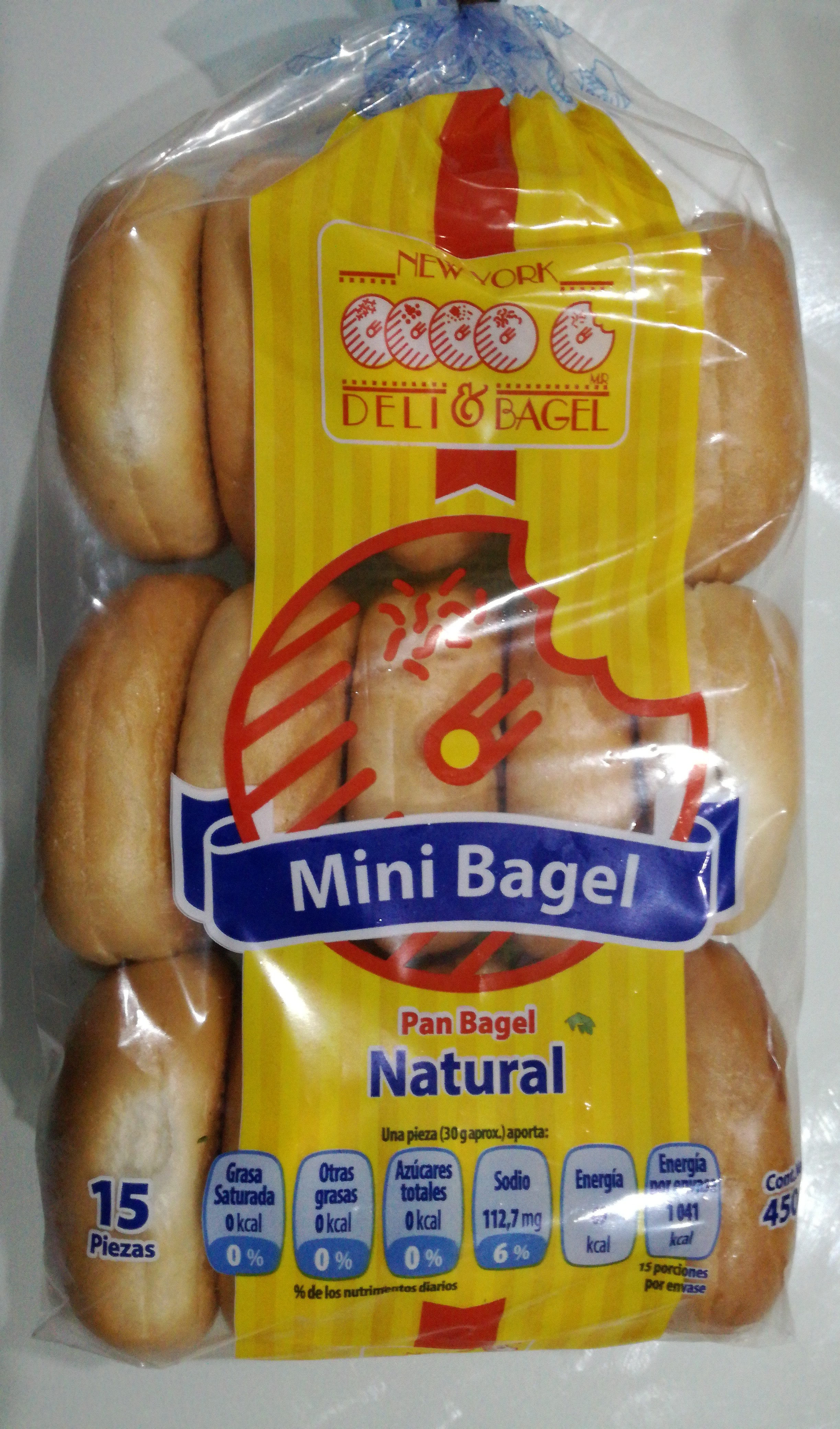 Mini Bagel - Product - es