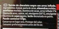 Suchard negro - Ingredients