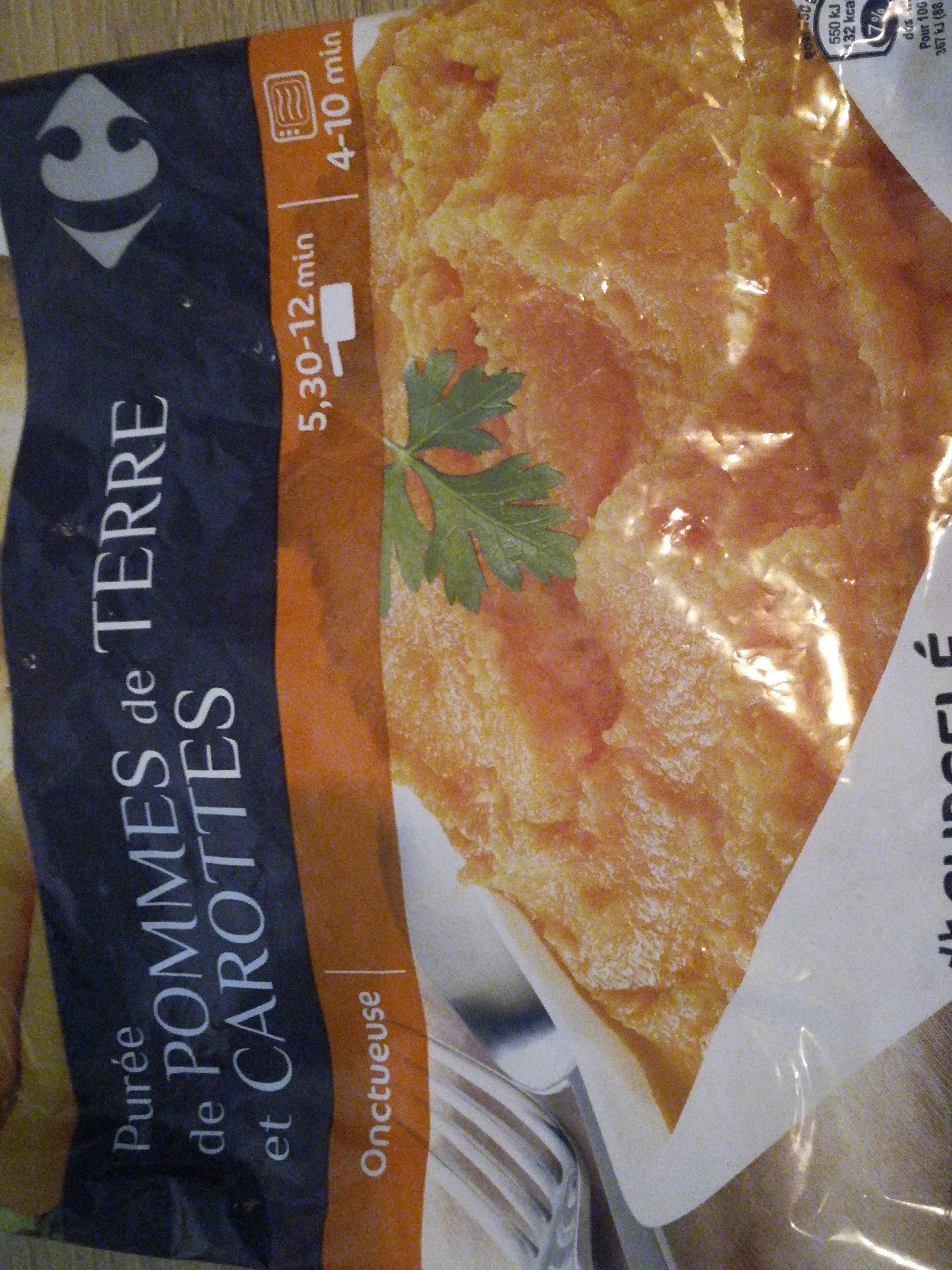 purée de pommes de terre et carottes - Produit - fr