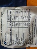 purée de pommes de terre et carottes - Informations nutritionnelles - fr