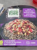 Trio de Quinoa aux haricots rouges poivrons maïs et paprika - Product - fr