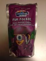 Fun Pocket Saveur pomme cassis - Product