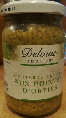 Moutarde entière aux pointes d'orties - 1
