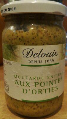 Moutarde entière aux pointes d'orties - Produit - fr