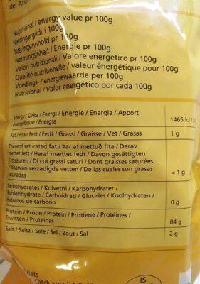 Bitafishkur - Voedingswaarden