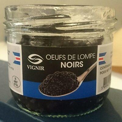 Oeufs de lompe noirs - Product - fr