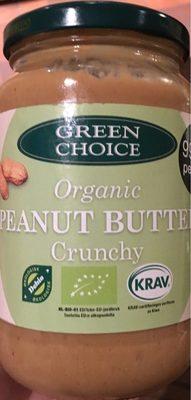 Organic peanut butter Crunchy - Produit - fr
