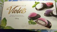 Chocolate Violets - Product